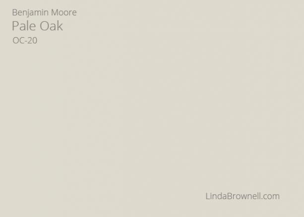 Benjamin Moore Pale Oak OC-20
