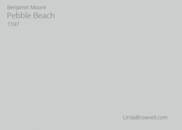 Benjamin Moore Pebble Beach 1597