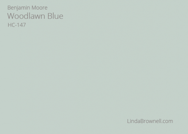 Benjamin Moore Woodlawn Blue HC-147