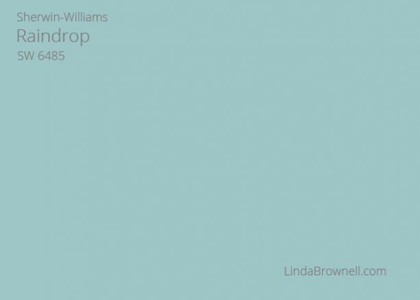 Sherwin-Williams Raindrop SW 6485