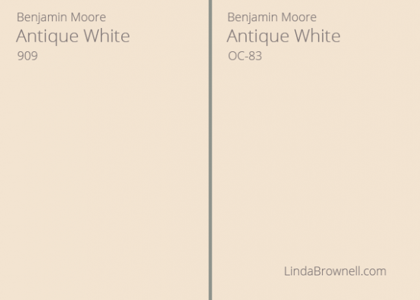 antique white paint benjamin moore