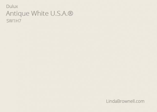 antique white paint dulux