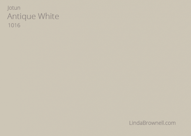antique white paint jotun