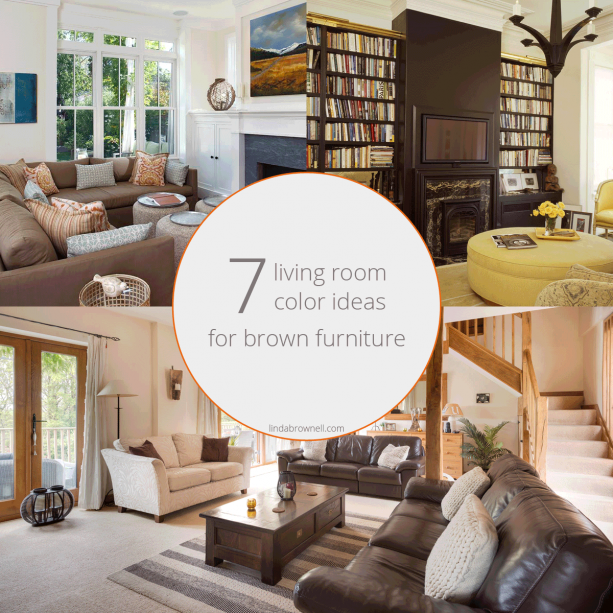 7 living room color ideas for brown furniture