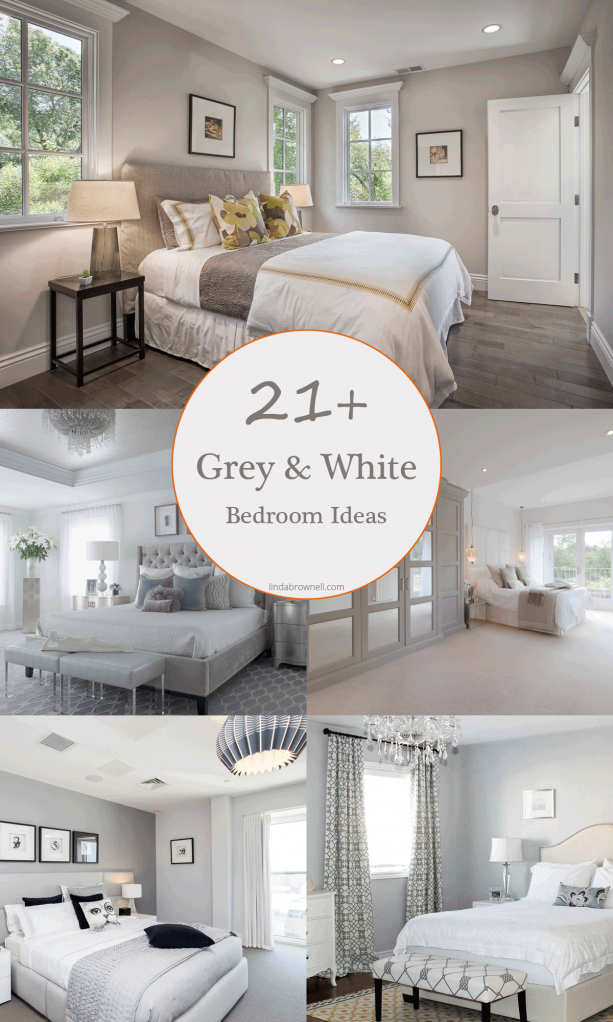 21+ most fabulous grey and white bedroom