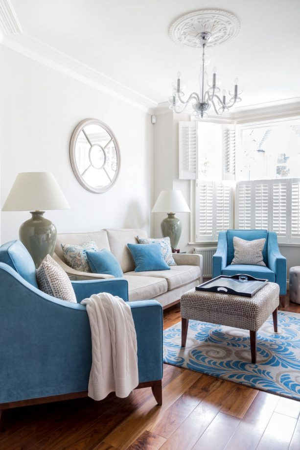11 Most Attractive Grey And Blue Living, Light Blue Living Room