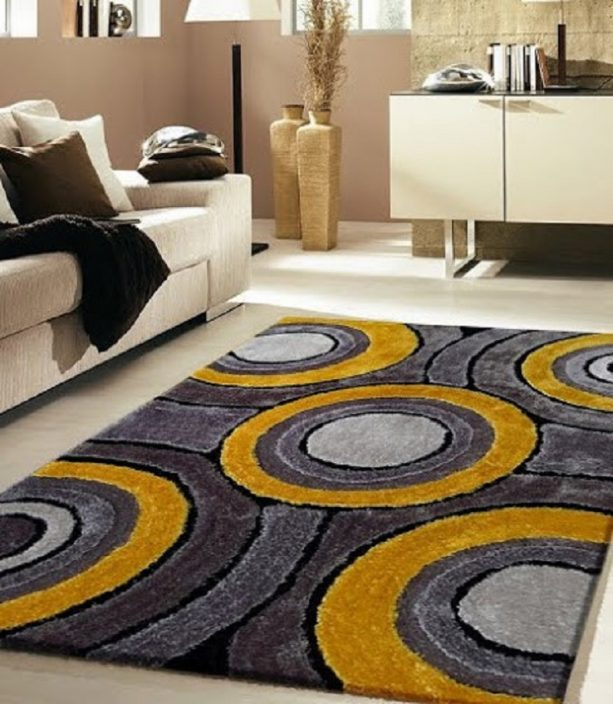 Grey And Yellow Living Room Ideas, Gray And Yellow Rugs For Living Room