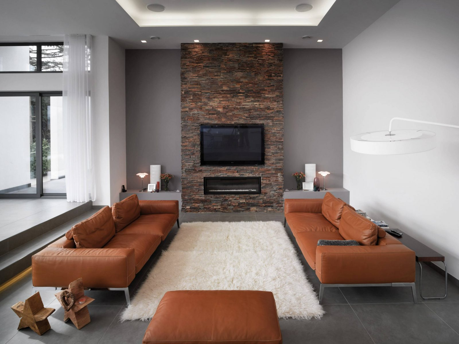 Grey And Brown Living Room Ideas, Gray And Brown Living Room