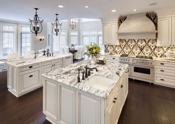 17 Most Fabulous Cream Kitchen Cabinets, Cream Kitchen Cabinet Ideas