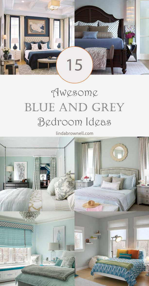 15 blue and grey bedroom ideas