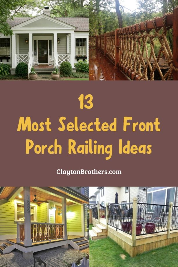 Front Porch Railing Ideas