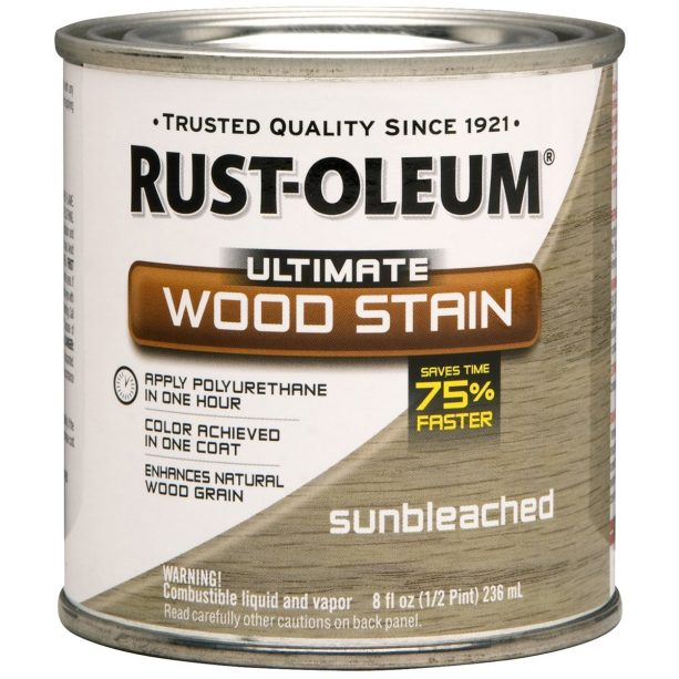 Rust-Oleum Ultimate Wood Stain Sunbleached