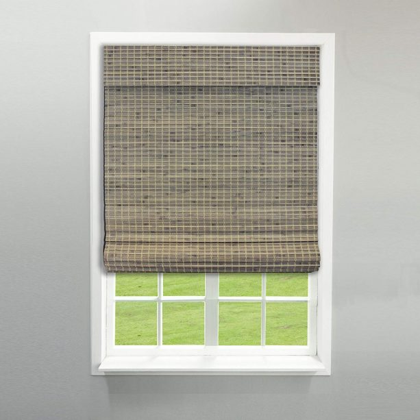 """Radiance cordless bamboo shade in 23"""" x 64"""" size"""