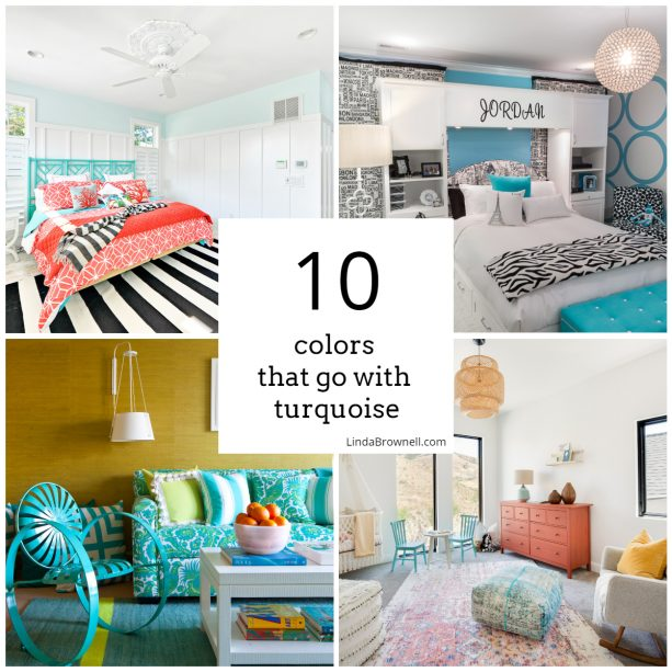 10 colors that go with turquoise