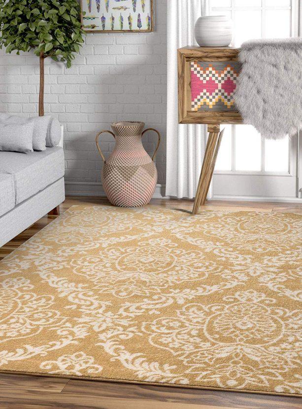 Well Woven Magnolia gold modern rug