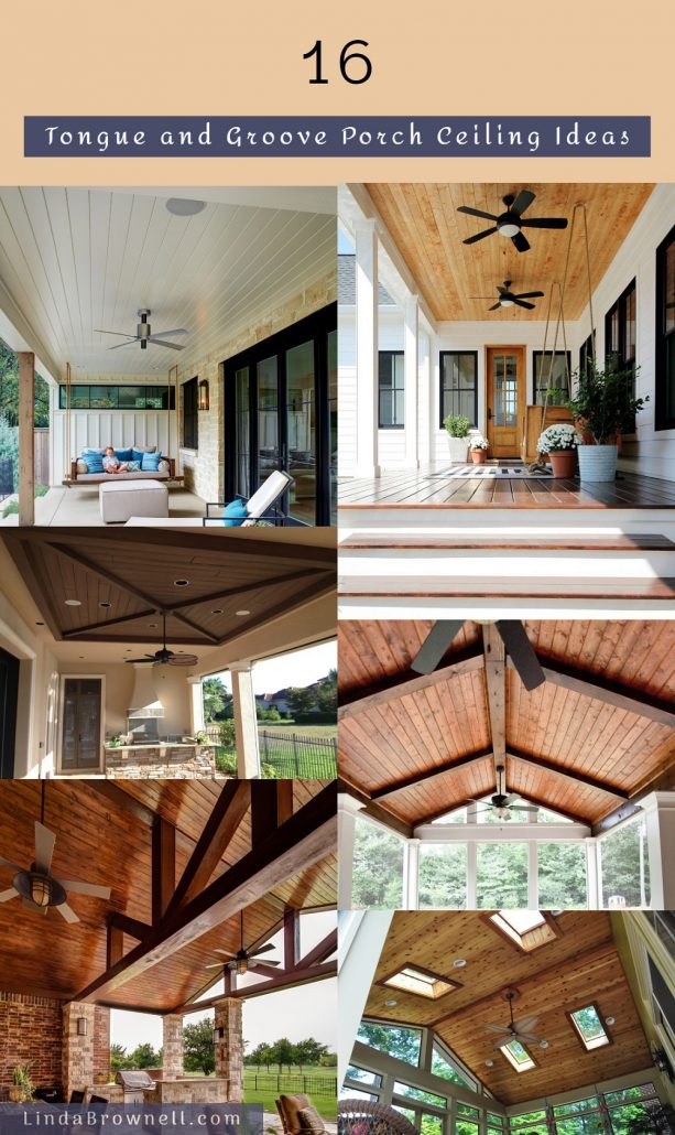 16 Tongue and Groove Porch Ceiling Ideas