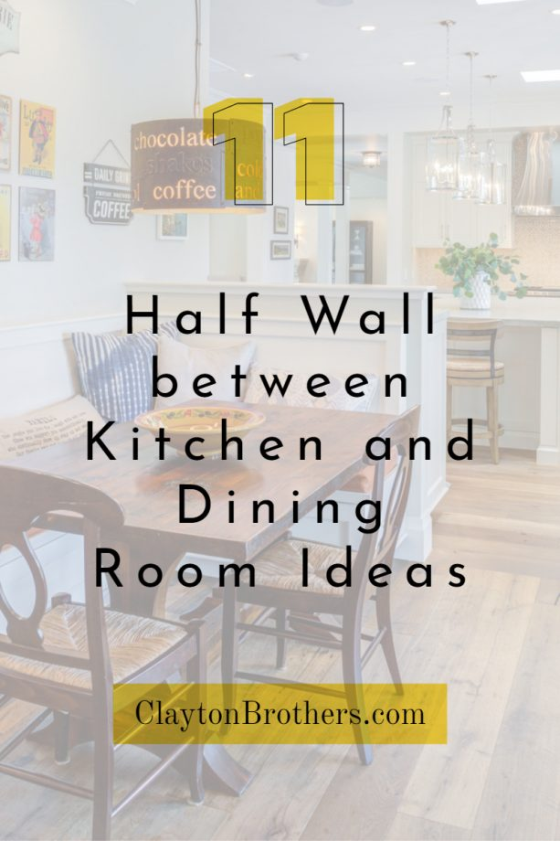 Half Wall Between Kitchen And Dining Room All The Information And Ideas You Must Know Jimenezphoto