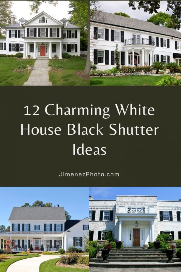 White House Black Shutters