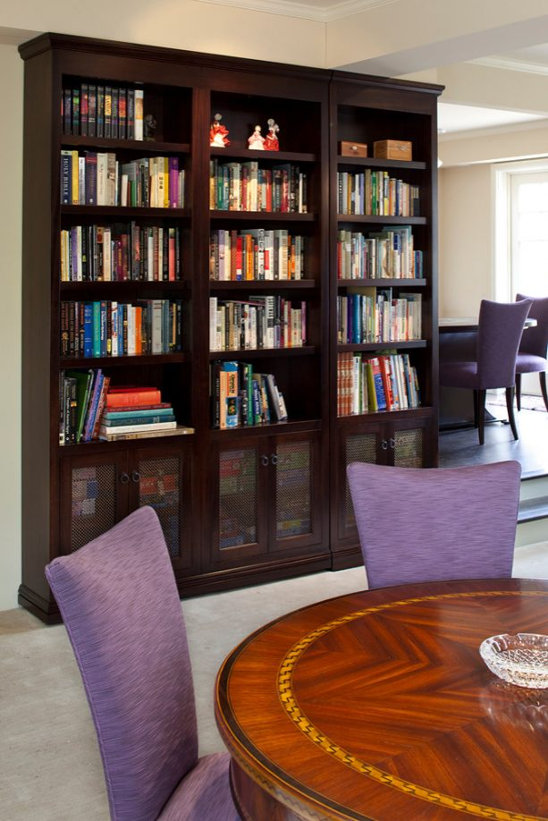 a secret door that looks like a regular bookshelf