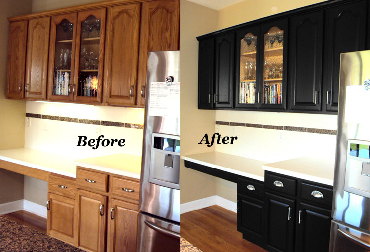 Updating Oak Kitchen Cabinets Before And After 11 Attractive Inspirations For Your Next Project Jimenezphoto