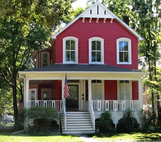 a stunning Bolero SW 7600 farmhouse exterior